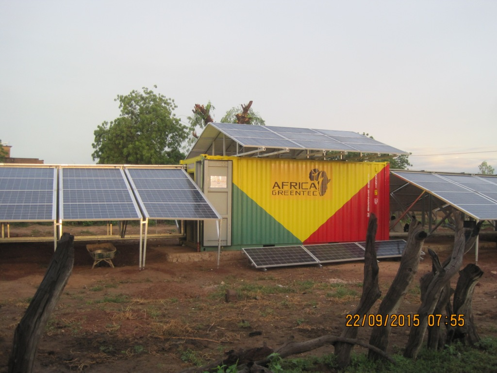 solar-container: mobile solar plant for mali