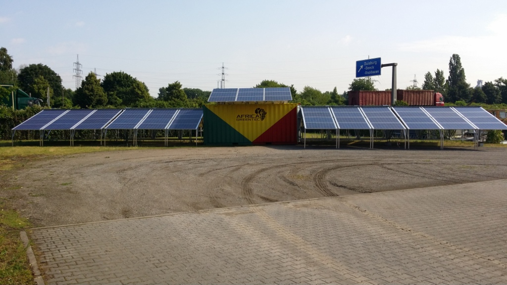 solar container - mobile solar plant