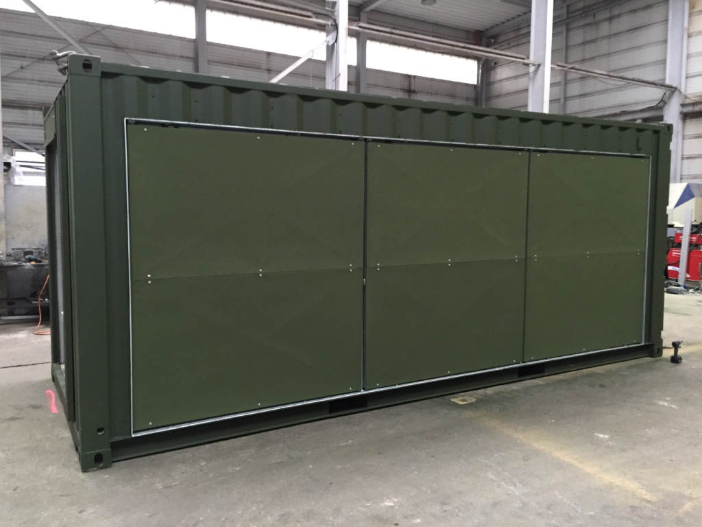 solar-container for the german armed forces