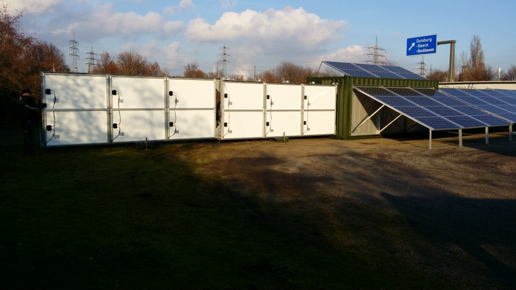 solar-container - mobile solar plants