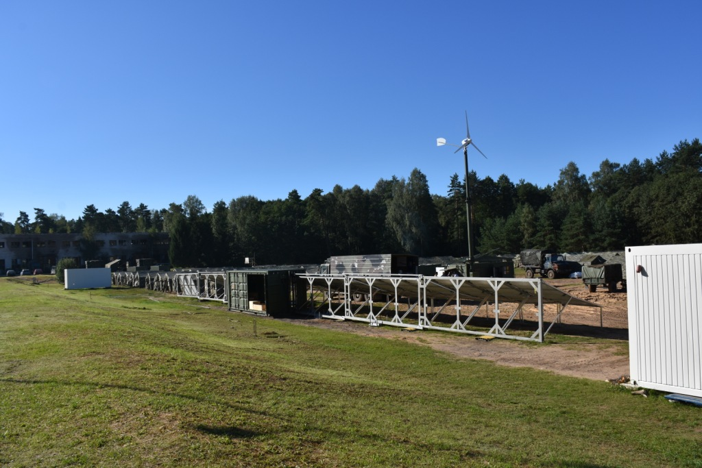 solar-contaienr, mobile power plants for Nato