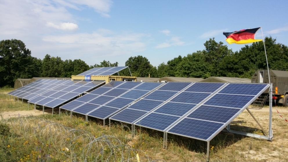 mobile solar power for NATO