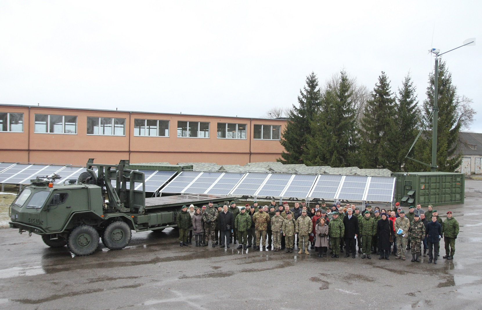 solar-container mobile solar plants for NATO